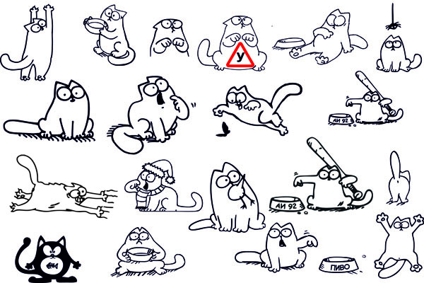 Картинки симона кота