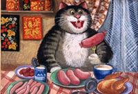 питание кота